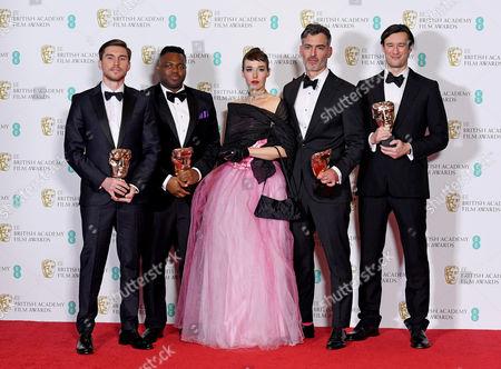 Editorial photo of Press Room - 2017 EE British Academy Film Awards, London, United Kingdom - 12 Feb 2017