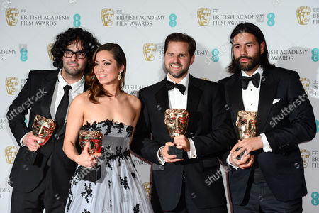 Babak Anvari, Emily Leo, Oliver Roskill and Lucan Toh