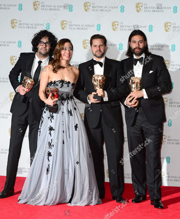 Stock Photo of Babak Anvari, Emily Leo, Oliver Roskill and Lucan Toh