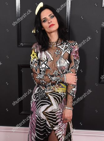 Editorial picture of 59th Annual Grammy Awards, Arrivals, Los Angeles, USA - 12 Feb 2017