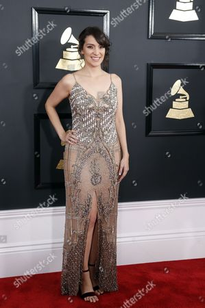 Editorial image of Arrivals - 59th Annual Grammy Awards, Los Angeles, USA - 12 Feb 2017