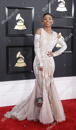 Editorial picture of Arrivals - 59th Annual Grammy Awards, Los Angeles, USA - 12 Feb 2017