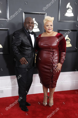 Stock Picture of David Mann and Tamela Mann