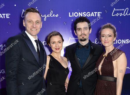 Zygi Kamasa, Damien Chazelle and Olivia Hamilton