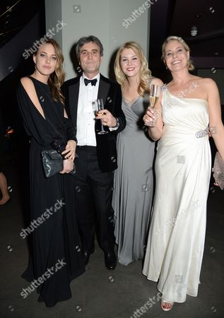 Daisy Knatchbull, Philip Knatchbull, guest and Wendy Knatchbull