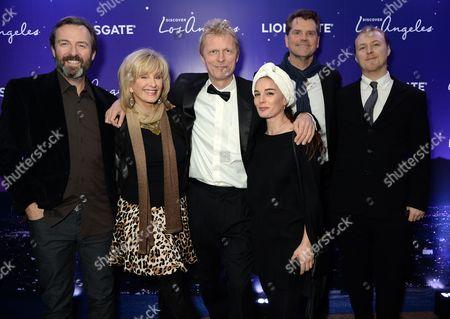 Marius de Vries with guests