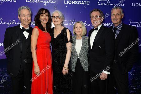 Mary Zophres, Mildred Iatrou Morgan, Sandy Reynolds-Wasco and David Wasco