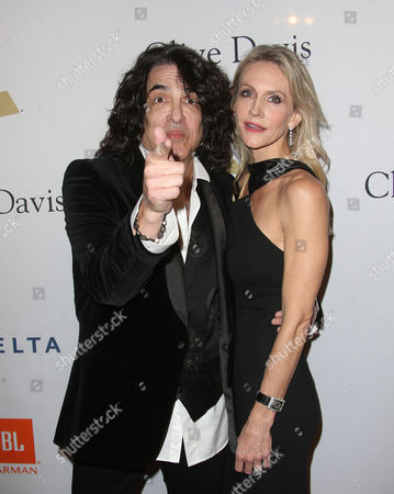Editorial photo of Clive Davis Pre-Grammy Party, Arrivals, Los Angeles, USA - 11 Feb 2017