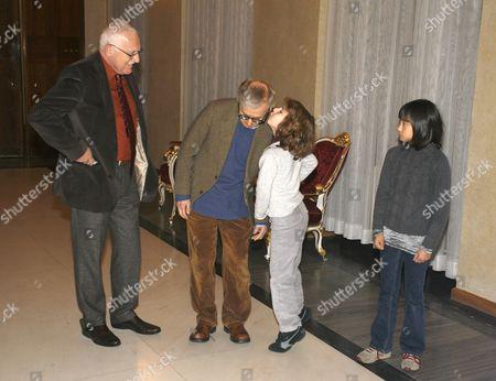 Editorial image of Czech President Vaclav Klaus Meets Woody Allen, Prague, Czech Republic - 20 Dec 2008