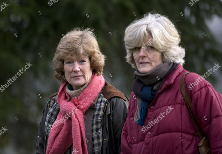 Lady Sarah McCorquodale and Lady Jane Fellowes