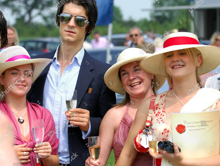 'Ladette To Lady' TV programme - The Ladettes are invited to an International Polo Tournament - (L-R) Holly Clements, Simone Webber and Nicole Hart