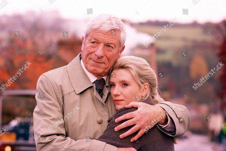 'Peak Practice'   TV John Woodvine and Saskia Wickham