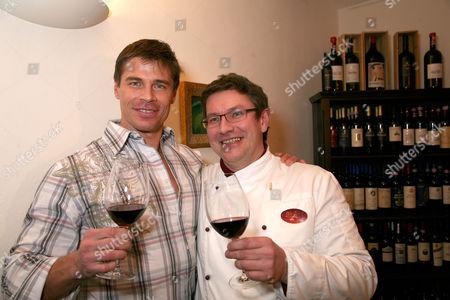 Roland Kickinger and  Kurt Rosmarino