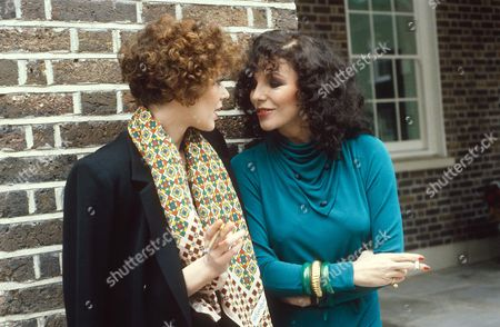 SYLVIA KRISTEL AND JOAN COLLINS