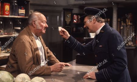 Peter Myers (as Charlie Cholmondeley) and George Woodbridge (as Wilf Whitehead)