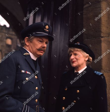 Peter Myers (as Charlie Cholmondeley) and Sheila Keith (as Chief Officer Juliet Mincing Stern)