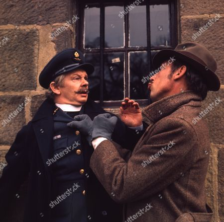 Peter Myers (as Charlie Cholmondeley) and Ron Pember (as Stan)
