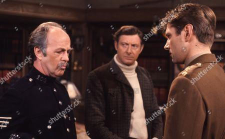 Victor Winding (as Benjamin Sweet), Alan Tucker (as F/Lt King) and Derek Benfield (as Police Sgt Brophy)