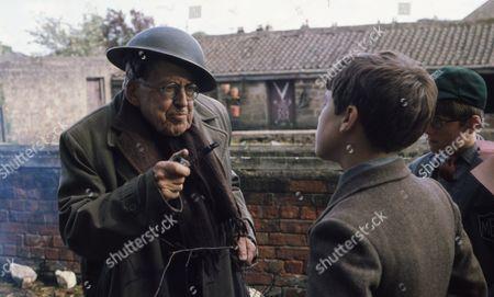 Andrew Packett (as Matthew Flaxton) and Philip Baldwin (as Terry Nichols) with Richard Goolden (as Albert)