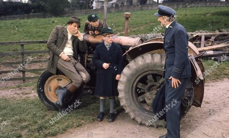 Andrew Packett (as Matthew Flaxton) and Philip Baldwin (as Terry Nichols), with Victor Winding (as Benjamin Sweet) and Peter Myers (as Charlie Cholmondeley)