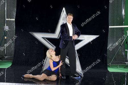 Graeme Le Saux and Kristina Lenko