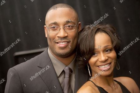 Director George Tillman Jnr and Marcia Wright