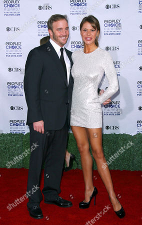 Jay Mohr and Nikki Cox