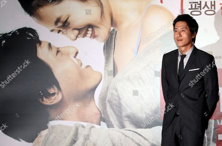A Picture Made Available 15 October 2006 Shows South Korean Actor Kim Joo-hyuk who Stars in Director Jung Yoon-soo's Movie 'My Wife Got Married ' Posing For a Photo During a Publicity Event at Cgv Theater in Seoul South Korea 14 October 2008 the Movie Will Be Released in South Korea on 23 October Korea, Republic of Seoul