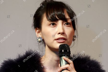 South Korean Actress Lee Na-young who Stars in the Movie 'Sad Dream ' Speaks During a Publicity Event at the Cgv Theater in Seoul South Korea 23 September 2008 the Movie by South Korean Director Ki-duk Kim Will Be Released in South Korea on 09 October 2008 Korea, Republic of Seoul