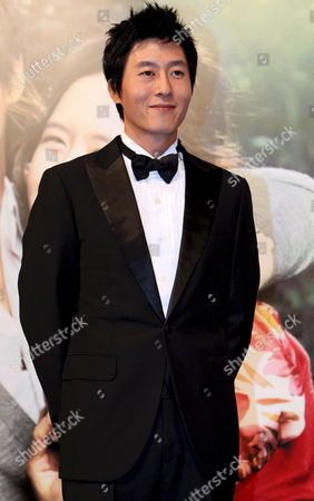 South Korean Actor Kim Joo-hyuk who Stars in Director Jung Yoon-soo's Movie 'My Wife Got Married ' Poses During a Publicity Event at Seoul Plaza Hotel South Korea 23 September 2008 the Movie Will Be Released in South Korea on 23 October 2008 Korea, Republic of Seoul