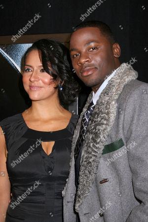 Derek Luke and wife Sophia Luke