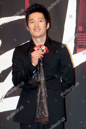 South Korean Actor Jang Hyuk Poses For a Photo During a Publicity Event For the New Drama 'Tazza (the War of Flowers)' at Broadcaster Sbs's Main Complex in Seoul South Korea 08 September 2008 the Drama Will Be Aired by Sbs Starting 16 September Korea, Republic of Seoul