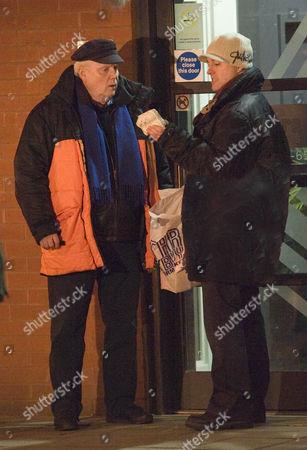 Editorial photo of 'Coronation Street' location filming, Manchester, Britain - 07 Jan 2009
