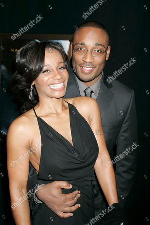 Director George Tillman Jr. and wife Marcia Wright