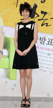 South Korean Actress Lee So-yeon Poses For a Photo During a Publicity Event For the New Drama 'The Golden Age of My Life' at Mbc Drama Center in Ilsan Goyang West of Seoul South Korea 27 August 2008 the Drama Will Be Aired by the Mbc Tv Network Starting 30 August Korea, Republic of Goyang
