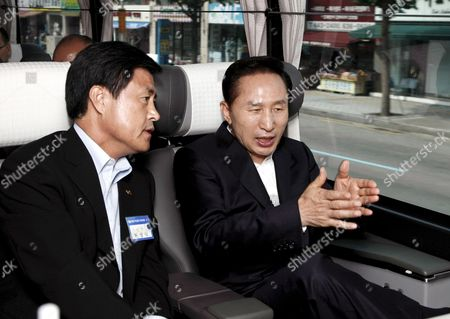 Editorial image of South Korea Traffic Controls - Jul 2008
