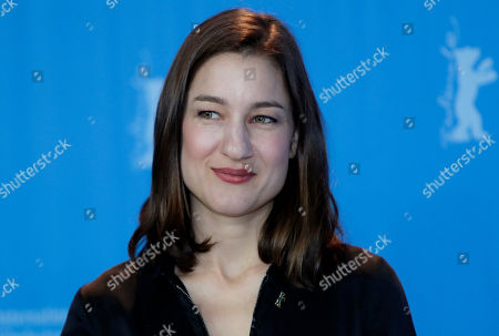 Actress Marie Leuenberger poses for the photographers during a photo call for the film 'Bright Nights' at the 2017 Berlinale Film Festival in Berlin, Germany