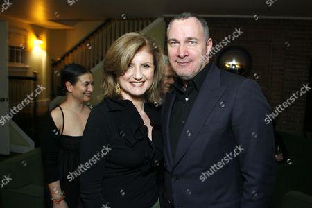 Arianna Huffington and Edward Menicheschi