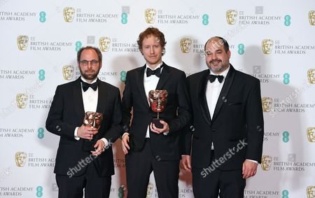 Editorial picture of Press Room - 2017 EE British Academy Film Awards, London, United Kingdom - 12 Feb 2017
