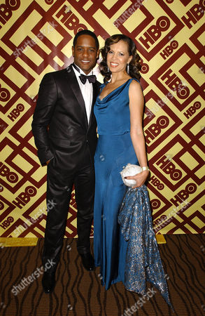Blair Underwood and wife Desiree DaCosta