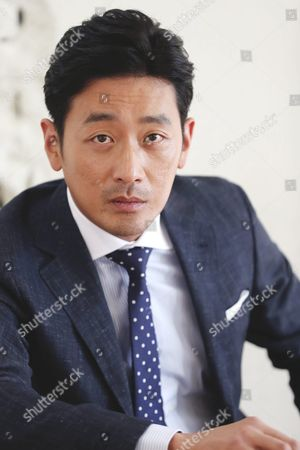 Actor Ha Jung-woo who Stars in the New Movie 'Tunnel ' Poses For a Portrait Before an Interview at a Coffee Shop in Seoul South Korea 05 August 2016 Korea, Republic of Seoul