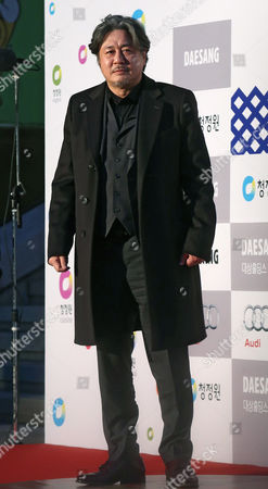 A Picture Made Avaialable on 18 December 2014 Shows South Korean Actor Choi Min-sik Arriving For the 35th Blue Dragon Film Awards at the Sejong Center For Peforming Arts in Seoul South Korea 17 December 2014 Korea, Republic of Seoul