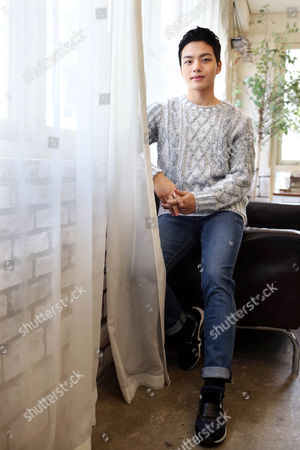 South Korean Actor Yeo Jin-goo Poses Ahead of an Interview with Yonhap News Agency in Seoul South Korea 21 January 2015 to Promote the New Film 'Shoot My Heart ' the Story of Two Patients at a Mental Asylum Developing an Unlikely Friendship Korea, Republic of Seoul