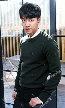 South Korean Actor and Singer Lee Seung-gi Poses During an Interview in Seoul South Korea 13 January 2015 Korea, Republic of Seoul