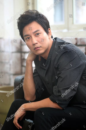 Korean Actor Kim Nam-gil Poses For Photographs During an Interview to Promote His New Movie 'Pirates' in Seoul South Korea 24 July 2014 the Movie Will Be Released in South Korean Theaters on 06 August Korea, Republic of Seoul