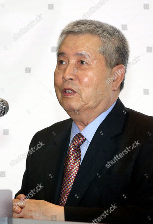 Director Im Kwon-taek Speaks During an Event at the Korean Film Archive in Seoul South Korea 22 May 2014 to Celebrate the 40th Anniversary of the Foundation of the Archive Korea, Republic of Seoul
