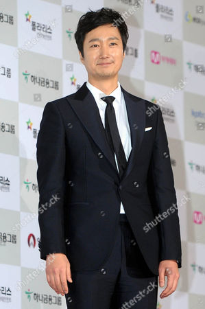 A Picture Made Available on 24 November 2014 Shows South Korean Actor Park Hae-il Arriving on the Red Carpet For the 51st Daejong Film Awards at the Kbs Hall in Seoul South Korea 21 November 2014 Korea, Democratic People's Republic of Seoul