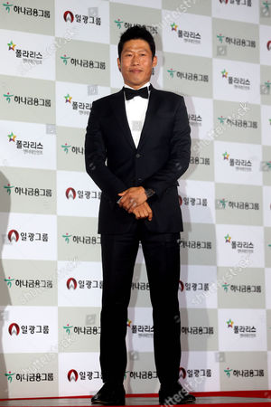 A Picture Made Available on 24 November 2014 Shows South Korean Actor Yoo Hae-jin Arriving on the Red Carpet For the 51st Daejong Film Awards at the Kbs Hall in Seoul South Korea 21 November 2014 Korea, Democratic People's Republic of Seoul