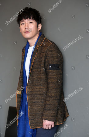 Actor Jang Hyuk Poses For Photographs During an Interview at a Studio in Seoul South Korea 22 September 2014 Korea, Republic of Seoul