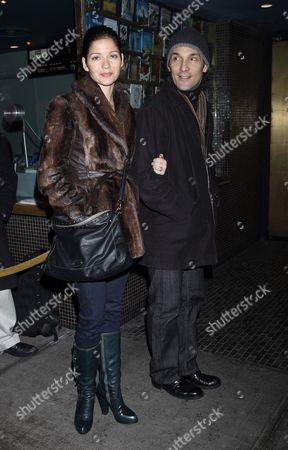 Stock Photo of Jill Hennessey and Paolo Mastropietro